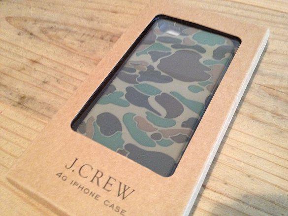 J.CREW iPhoneケース