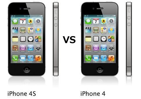 iPhone4 vs iPhone4s