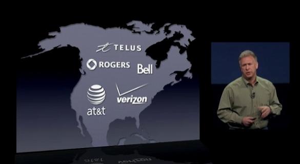 LTEはアメリカ・カナダのみ対応