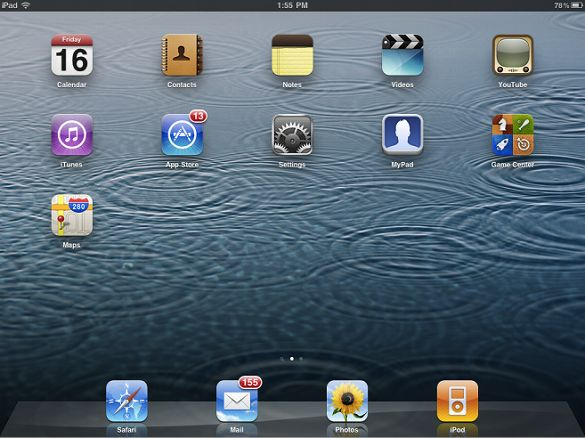 iOS5.1 for iPad