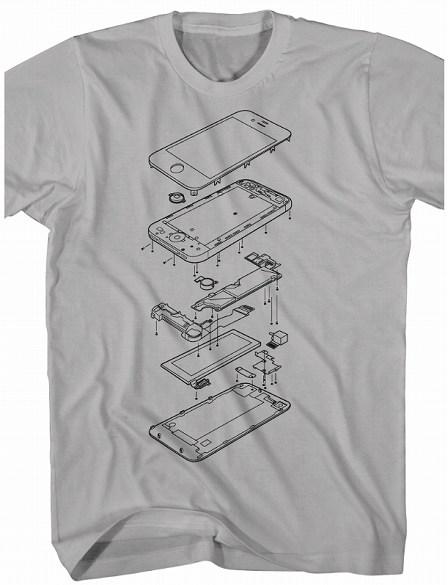 iPhone 4S Tシャツ