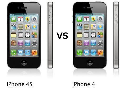 iPhone4 vs iPhone4s
